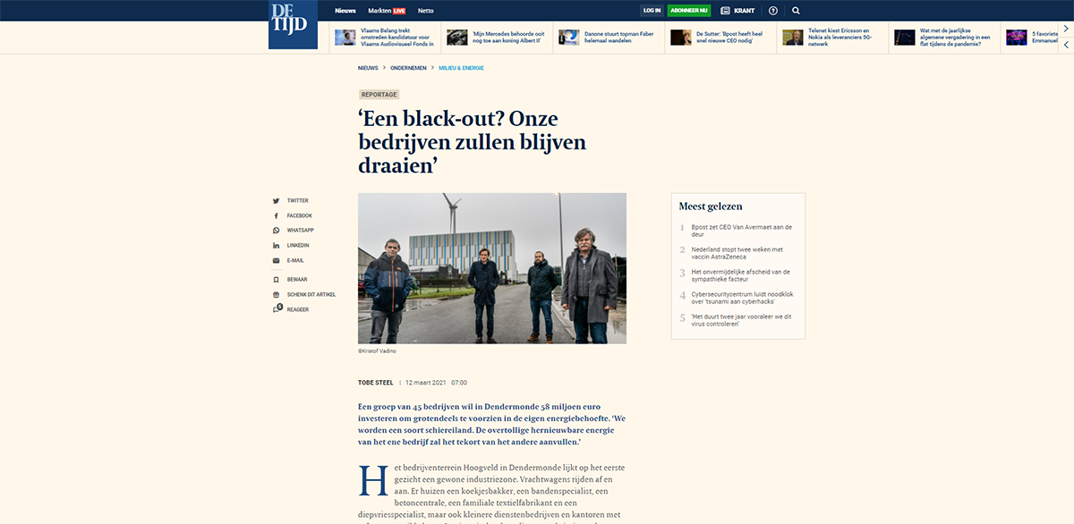 Artikel in de tijd over Lovitas